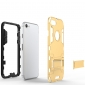 Slim Armor Shockproof Kickstand Protective Case for iPhone 8 4.7inch - Gold