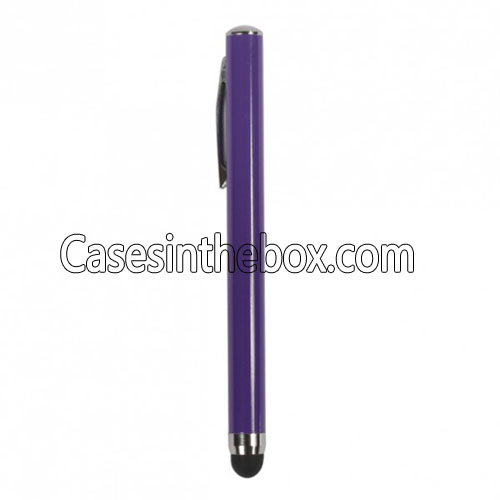 ipad 2 stylus,wholesale Sweet Rubberized Touch Point Stylus for iPad 1,iPad 2 and The New iPad - Violet