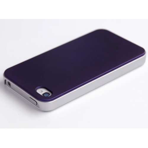 discount HOCO Colorized Back Cover Case for iPhone 4/4S - Purple