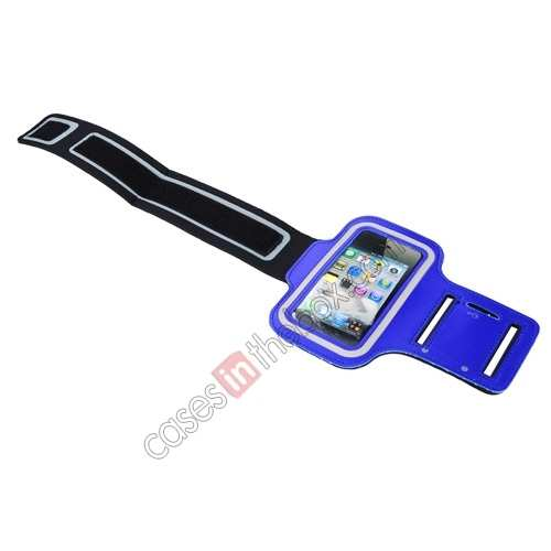 iphone5 sport armband,cheap Sport Armband Arm Strap Cover Case Holder For iPhone 5 5S - Blue