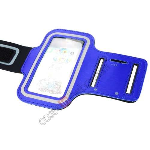iphone5 sport armband,top quality Sport Armband Arm Strap Cover Case Holder For iPhone 5 5S - Blue