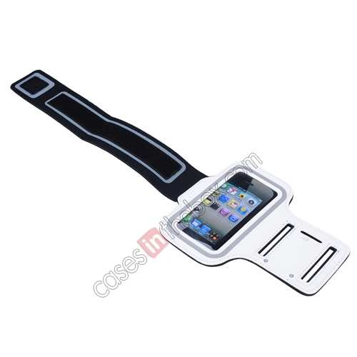 iphone5 armbands,top quality Sport Armband Arm Strap Cover Case Holder For iPhone 5 5S - White