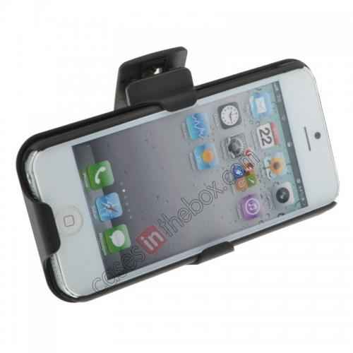 For Iphone 5 Belt Clip Case,discount Hard Plastic Cover With belt clip holster and kickstand Combo Case for iPhone 5 5S