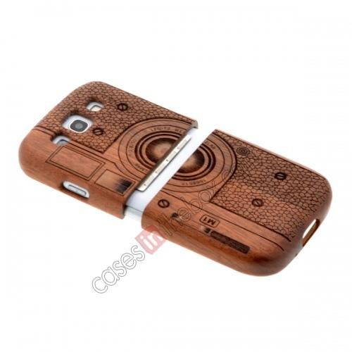Galaxy S3 Hard Case,best price Real Natural Wood Wooden Case Cover For Samsung Galaxy S3 SIII i9300 Camera