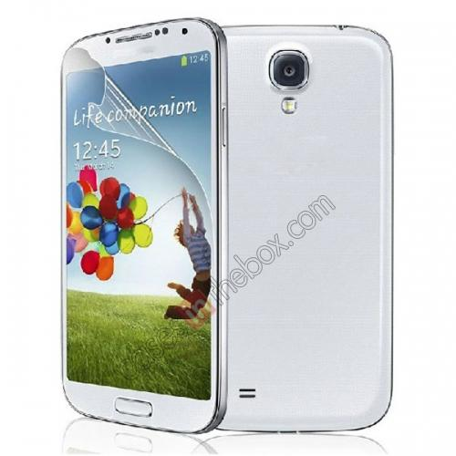 wholesale Clear Transparent Screen Protector For Samsung Galaxy S4 SIV/I9500