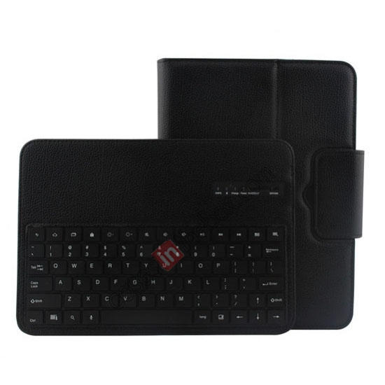 smart cover for samsung galaxy tab 3 10.1,wholesale Detachable Bluetooth Keyboard + Flip Stand Leather Case For Samsung Galaxy Tab 3 10.1 P5200 P5210 - Black