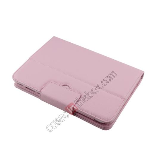 galaxy tab 10.1 smart case,discount Detachable Bluetooth Keyboard + Flip Stand Leather Case For Samsung Galaxy Tab 3 10.1 P5200 P5210 - Pink