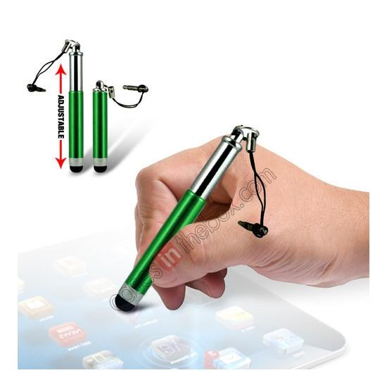 wholesale Capacitive aluminium stylus pen for mobile phones, PDA, Tablet PC, iPad & iPhone - Green