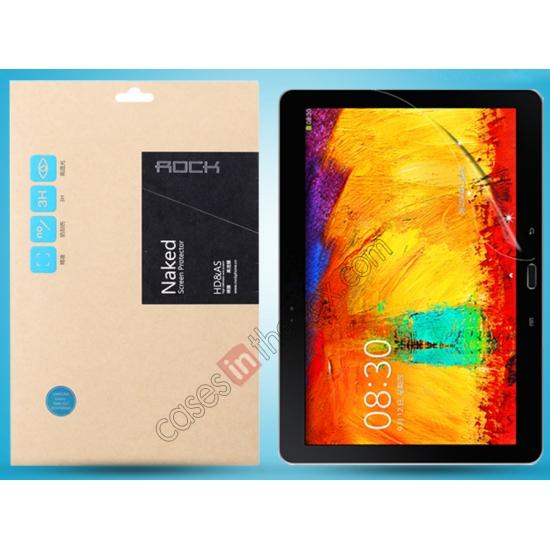 top quality New ROCK High Definition Clear Screen Protector for Samsung Galaxy Note 10.1 2014 Edition P600/P601