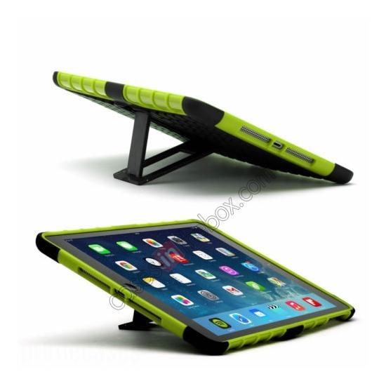 discount Shockproof Survivor Military Duty Hybrid Hard Case For iPad Air - Green