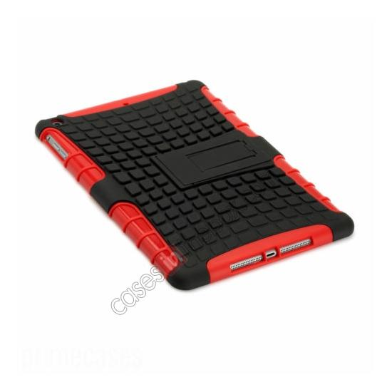 discount Shockproof Survivor Military Duty Hybrid Hard Case For iPad Air - Red