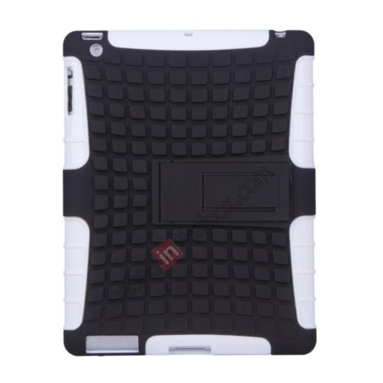 wholesale Shockproof Survivor Military Duty Hybrid Hard Case For iPad Air - White