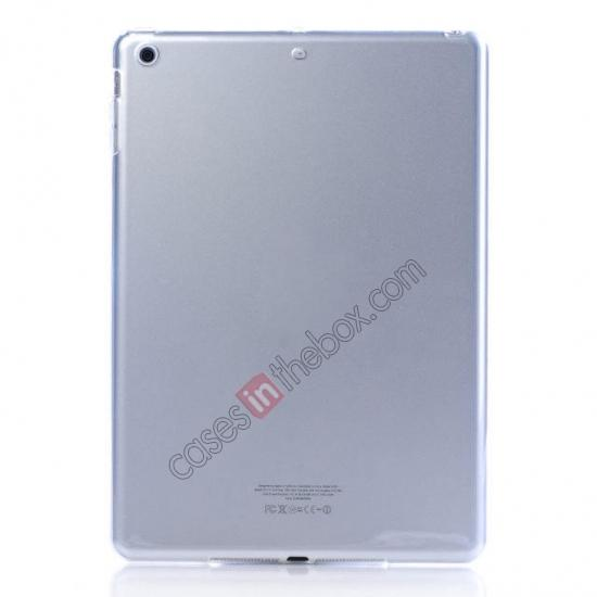 wholesale High Quality Clear Transparent TPU Soft Case Cover for Apple iPad Air 5 - Transparent