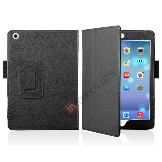 for retina ipad mini leather case,discount Magnetic PU Leather Smart Cover Case for iPad mini Retina 2 - Black