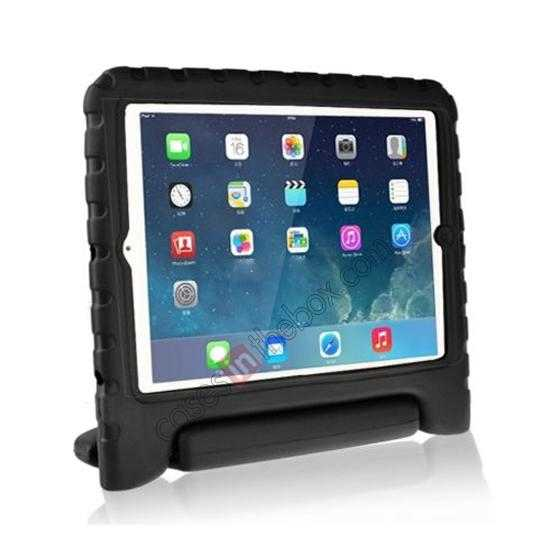 wholesale Kids Children Protective EVA Foam Cover Shockproof Case Stand for iPad Air - Black