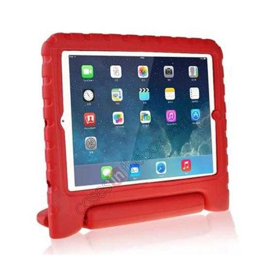 wholesale Kids Children Protective EVA Foam Cover Shockproof Case Stand for iPad Air - Red