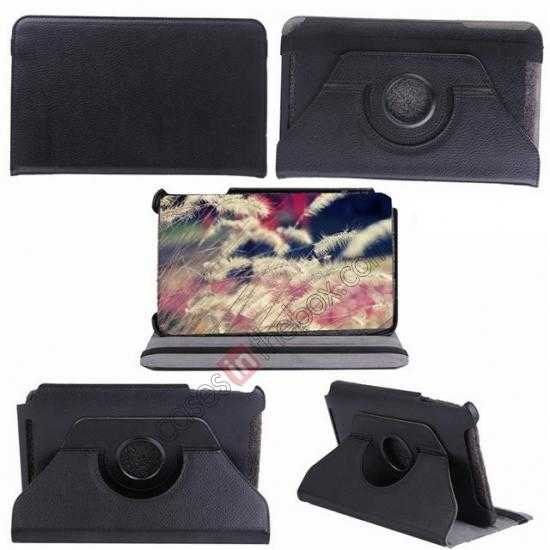 top quality 360 Rotating Leather Portfolio Case Cover For ASUS VivoTab Note8 M80TA
