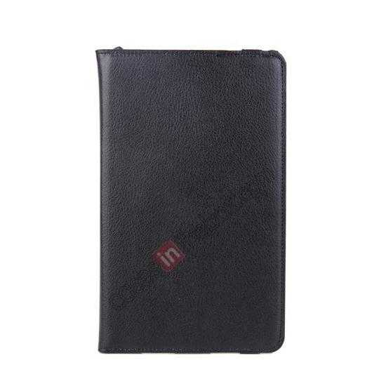 low price 360 Rotating Leather Portfolio Case Cover For Dell Venue 8 Pro Windows 8.1