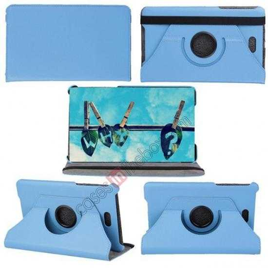discount 360 Rotating Leather Portfolio Case Cover For Dell Venue 8 Pro Windows 8.1