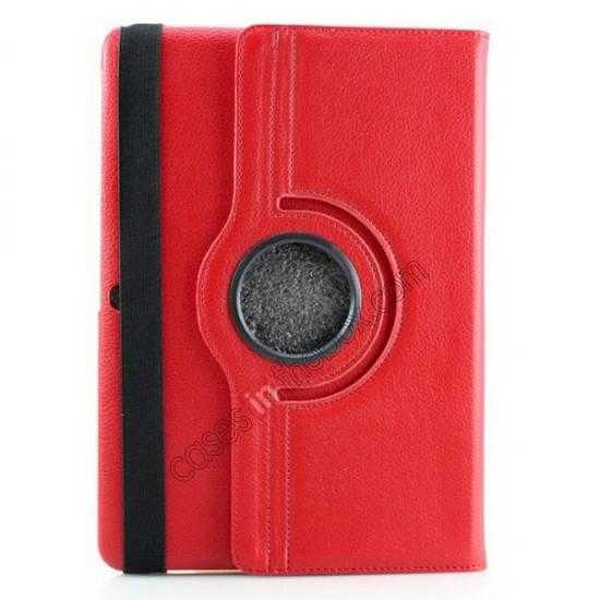 discount 360 Rotating Leather Portfolio Case Cover For Samsung Galaxy Tab Pro 10.1 T520