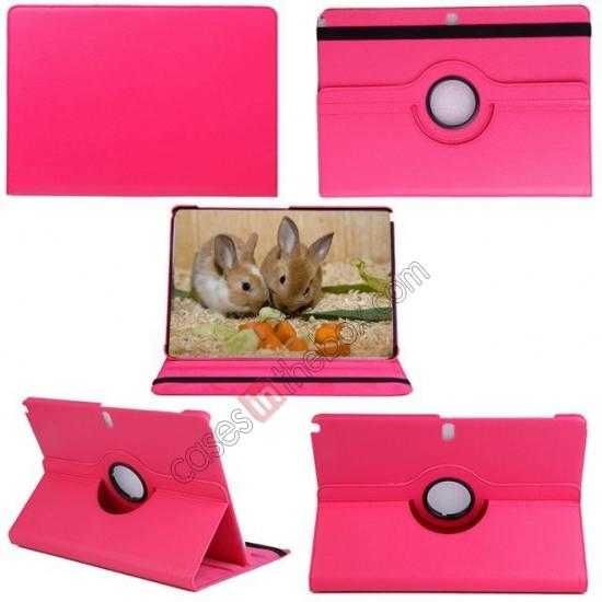 top quality 360 Rotating Leather Portfolio Case Cover For Samsung Galaxy Tab Pro 12.2 P900