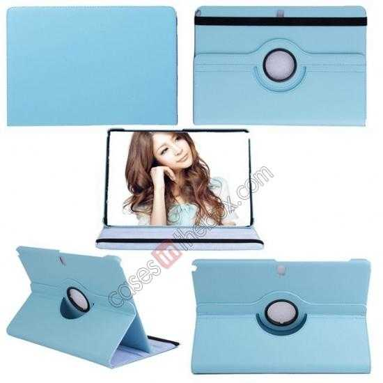 best price 360 Rotating Leather Portfolio Case Cover For Samsung Galaxy Tab Pro 12.2 P900