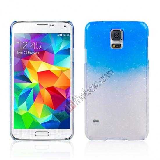 wholesale 3D Rain drop design hard case cover For Samsung Galaxy S5 - Dark blue