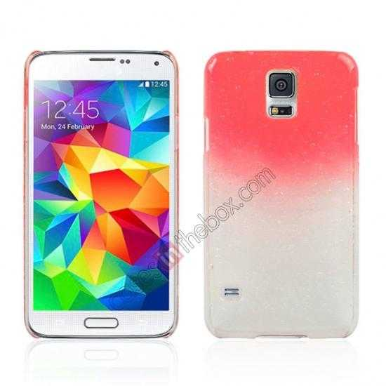 wholesale 3D Rain drop design hard case cover For Samsung Galaxy S5 - Red