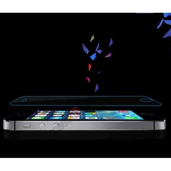 best price Baseus 2.5D 0.3mm Tempered Glass Screen Protector for iPhone 5S 5C 5 (Arc Edge)