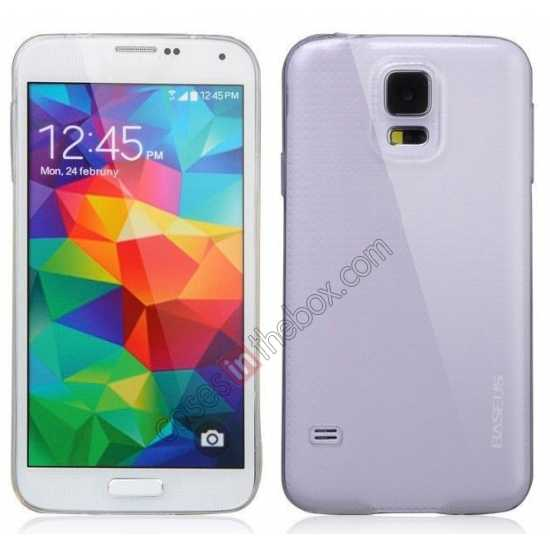 wholesale Baseus Air TPU Transparent Soft Back Case For Samsung Galaxy S5 G900