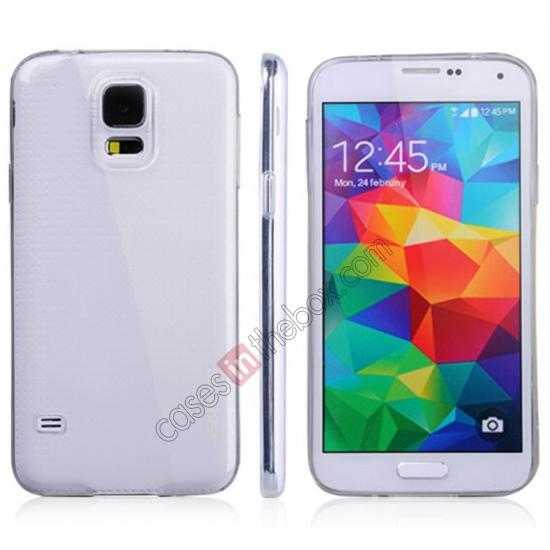 china wholesale Baseus Air TPU Transparent Soft Back Case For Samsung Galaxy S5 G900