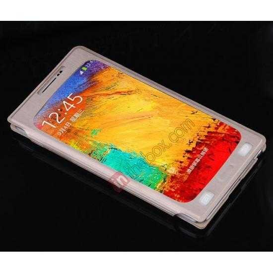best price BASEUS Coloured Glaze Full View Leather Housing Case for Samsung Galaxy Note 3 N9000