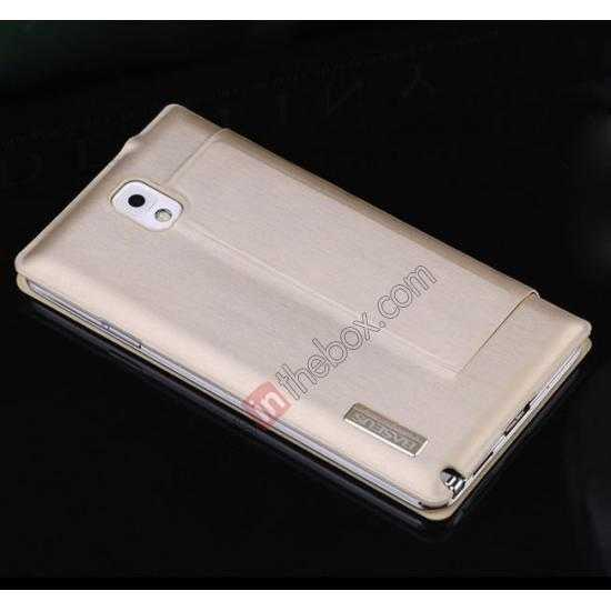 on sale BASEUS Coloured Glaze Full View Leather Housing Case for Samsung Galaxy Note 3 N9000