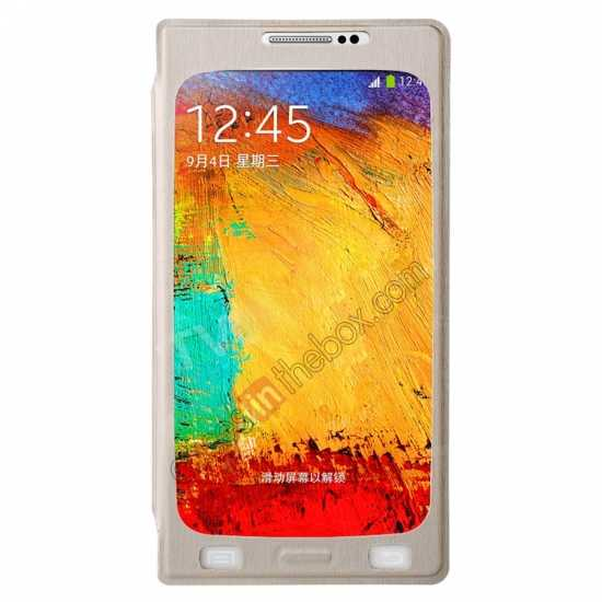 wholesale BASEUS Coloured Glaze Full View Leather Housing Case for Samsung Galaxy Note 3 N9000