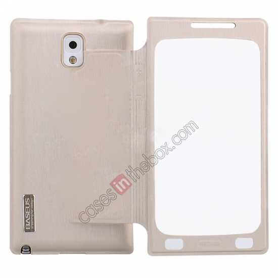 high quanlity BASEUS Coloured Glaze Full View Leather Housing Case for Samsung Galaxy Note 3 N9000