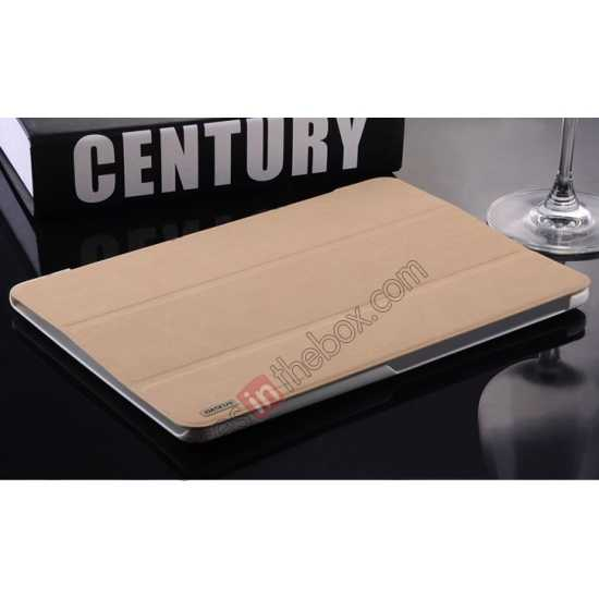 top quality Baseus Grace Leather Stand Case for Samsung Galaxy Tab Pro 10.1 T520 - Khaki