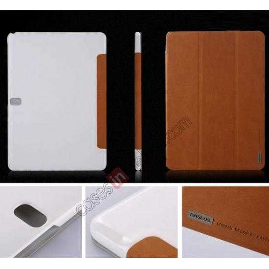 on sale Baseus Grace Leather Stand Case for Samsung Galaxy Tab Pro 10.1 T520 - Khaki