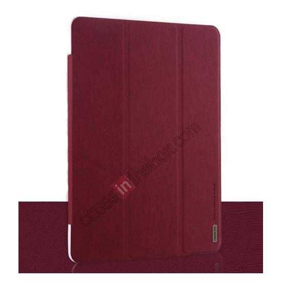 wholesale Baseus Grace Leather Stand Case for Samsung Galaxy Tab Pro 10.1 T520 - Wine Red