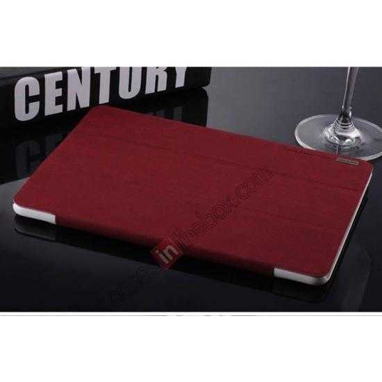 on sale Baseus Grace Leather Stand Case for Samsung Galaxy Tab Pro 10.1 T520 - Wine Red