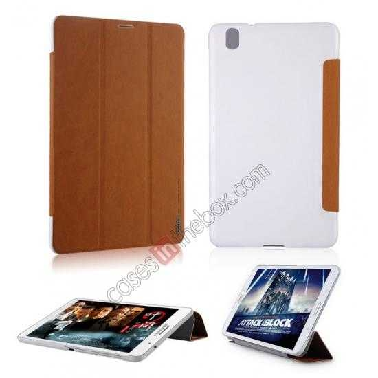 on sale Baseus Grace Leather Stand Case for Samsung Galaxy Tab Pro 8.4 T320 - Black