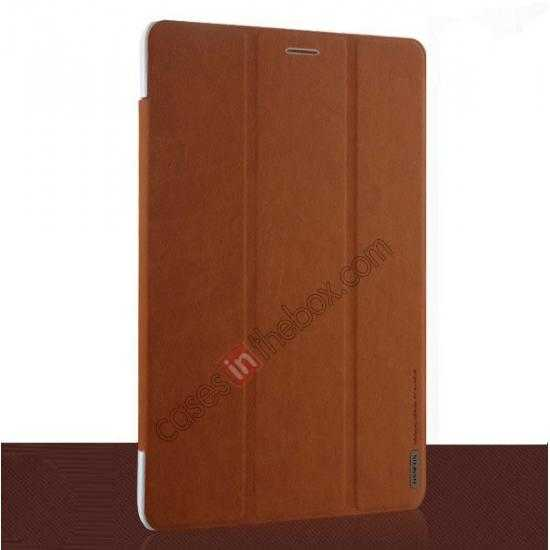 discount Baseus Grace Leather Stand Case for Samsung Galaxy Tab Pro 8.4 T320 - Brown