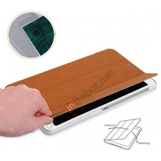 top quality Baseus Grace Leather Stand Case for Samsung Galaxy Tab Pro 8.4 T320 - Brown