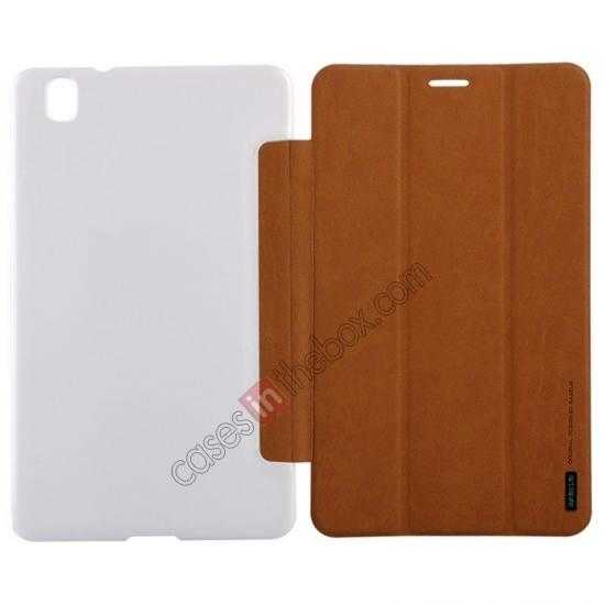 wholesale Baseus Grace Leather Stand Case for Samsung Galaxy Tab Pro 8.4 T320 - Brown