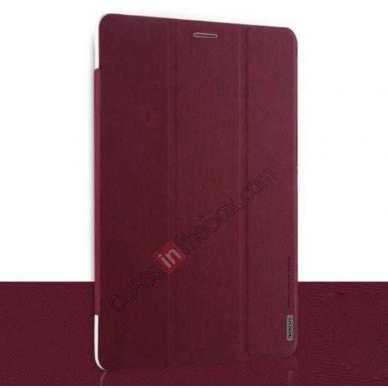 discount Baseus Grace Leather Stand Case for Samsung Galaxy Tab Pro 8.4 T320 - Wine Red