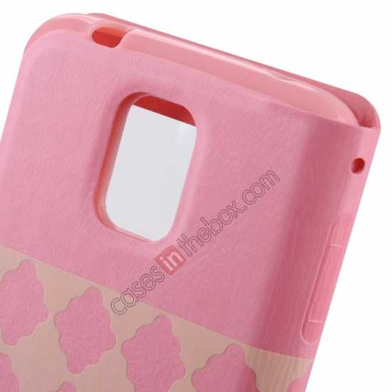discount Baseus Tokyo Secret Folio Window Leather Case for Samsung Galaxy S5 G900 - Pink