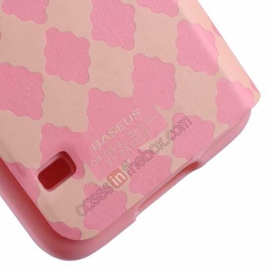 cheap Baseus Tokyo Secret Folio Window Leather Case for Samsung Galaxy S5 G900 - Pink