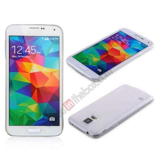 wholesale Baseus TPU Transparent Sky Case Back Cover For Samsung Galaxy S5