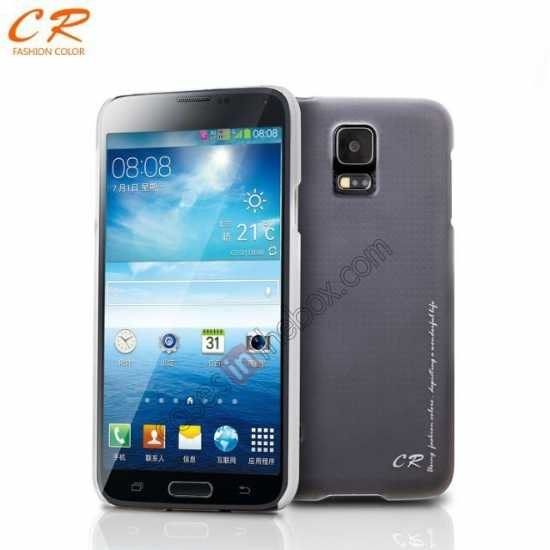 wholesale CR Ultra Slim Hard Back Case Cover For Samsung Galaxy S5 - Grey