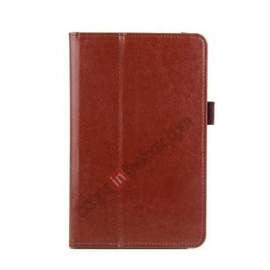 china wholesale Crazy Horse Pattern Leather Stand Case Cover for ASUS VivoTab Note8 M80TA