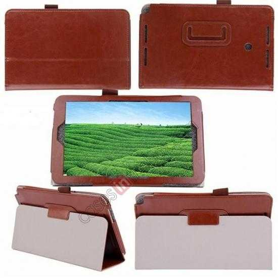 best price Crazy Horse Pattern Leather Stand Case Cover for ASUS VivoTab Note8 M80TA